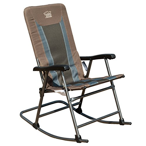 Timber Ridge Smooth Glide Padded Folding Rocking Chair