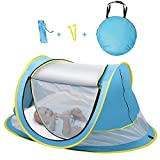Sunba Youth Baby Tent, Portable Baby Travel Bed, UPF 50+ Sun Shelters for Infant, Pop Up Beach Tent, Baby Travel Crib with Mosquito Net, Sun Shade Review