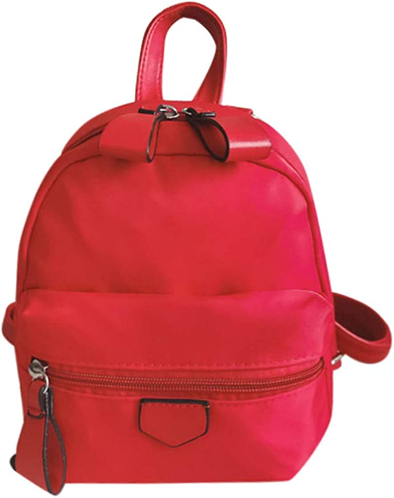 parent-child bag MONIVEVE Womens fashion casual personality backpack versatile outdoor mini multi-purpose backpack
