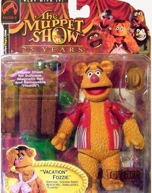 The Muppets ToyFare Exclusive Action Figure Vacation Fozzie - Exclusive Palisades