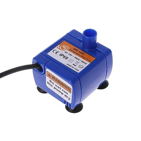ECMQS automático, Fuente de Agua Potable de Animal familier de Gato, silenciosa, Bomba de Fuente + Adaptador de alimentación: Amazon.es: Hogar