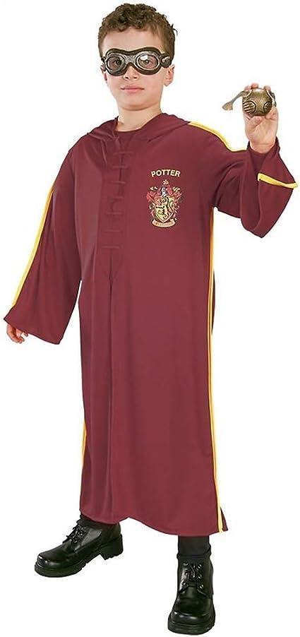 HARRY POTTER H-5375 Quidditch - Disfraz: Amazon.es: Juguetes y juegos