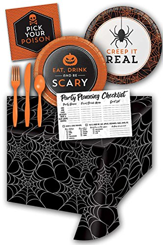 Honey Dew Gifts Humor Halloween Party Supplies Kit - Set Serves 8 Guests