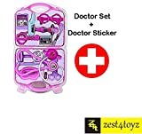Zest 4 toyz Doctor Play set with 12 Pcs For Kids and Toddlers Baby toy .