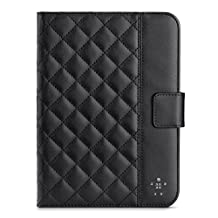 Belkin Quilted Cover with Stand for iPad Mini 4, iPad Mini 3, iPad Mini 2 with Retina Display and iPad Mini, Black