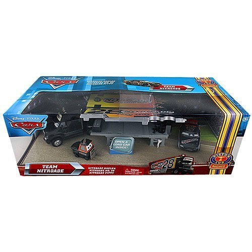 Disney Pixar Cars Team Nitroade Hauler by Mattel