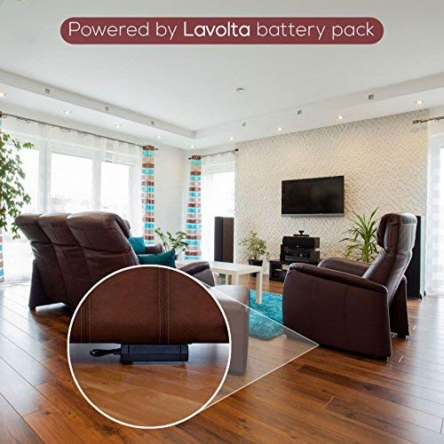Lavolta Battery Pack for Power Recliner - 2200 mAh Li-ion Rechargeable Power Supply for Reclining Sofa, Lift Chair, Lazy Boy Recliners - Wireless Akku ...