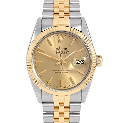 Rolex Datejust Swiss-Automatic Male Watch 16013 (Certified Pre-Owned) ()