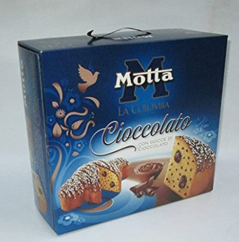 Motta Colomba Italienischer Osterkuchen Mit Schokoladen Creme Und