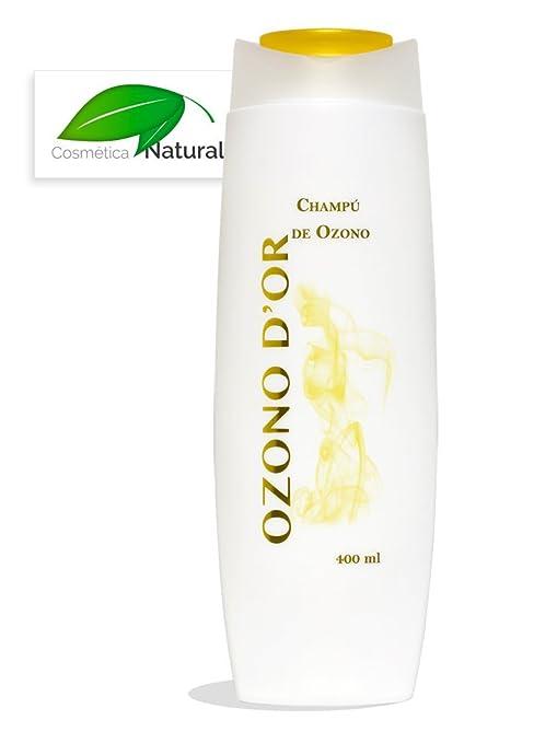 Champú Natural de Ozono 400 ml. Es Anticaspa y previene la alopecia