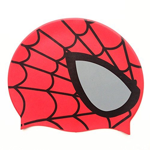 Spider Silicone Swimming Cap Childrens Swim