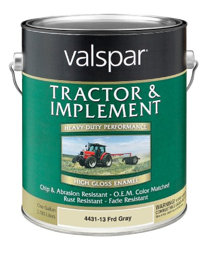 Valspar 4431-13 Ford Gray Tractor and Implement Paint - 1 Gallon by Valspar (Image #1)