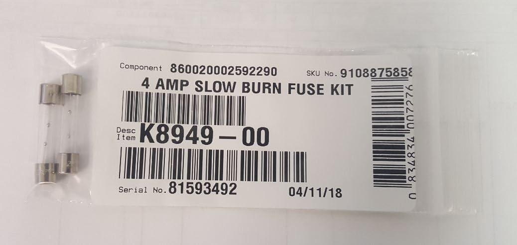 Fan-Tastic Vent K8949-00 4 Amp Slow Burn Fuse Kit