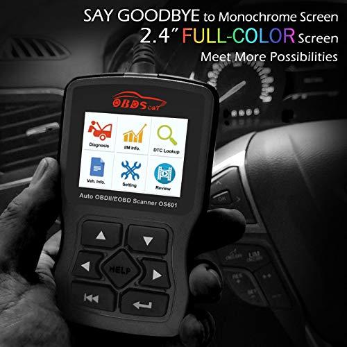 OBDScar OS601 OBD2 Scanner Universal Automotive Engine Fault Code Reader EOBD OBDII CAN Diagnostic Scan Tool