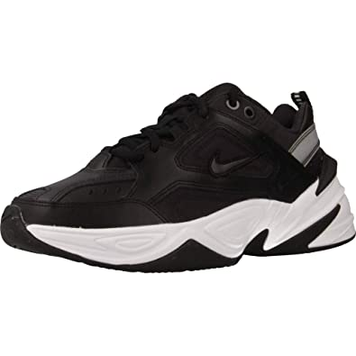 reputable site 67310 b9b64 Nike W M2k Tekno, Chaussures d Athlétisme Femme, Multicolore (Black Oil