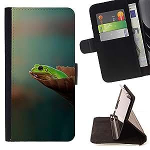 For HTC Desire 626 626w 626d 626g 626G dual sim Case , Lista lyagushka fon- la tarjeta de Crédito Slots PU Funda de cuero Monedero caso cubierta de piel