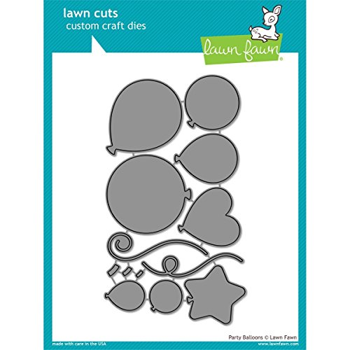 Lawn Fawn Lawn Cuts Custom Craft Die - Party Balloons (LF856)