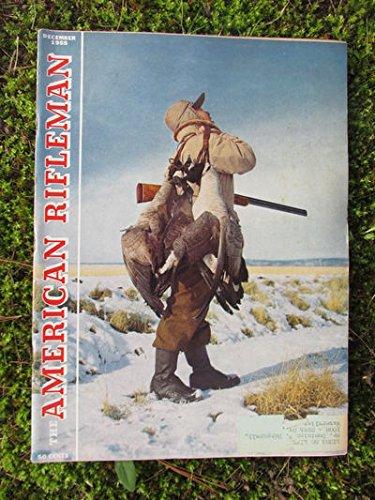 AMERICAN RIFLEMAN MAGAZINE 12/1955 [Ruger Blackhawk Revolver]