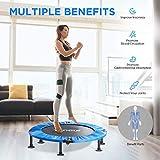 "Toncur 2021 40"" Mini Trampoline Fitness Foldable"
