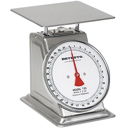 Cardinal Detecto t-2-s 32 oz. Carga Superior fija Dial Escala - acero inoxidable: Amazon.es: Hogar