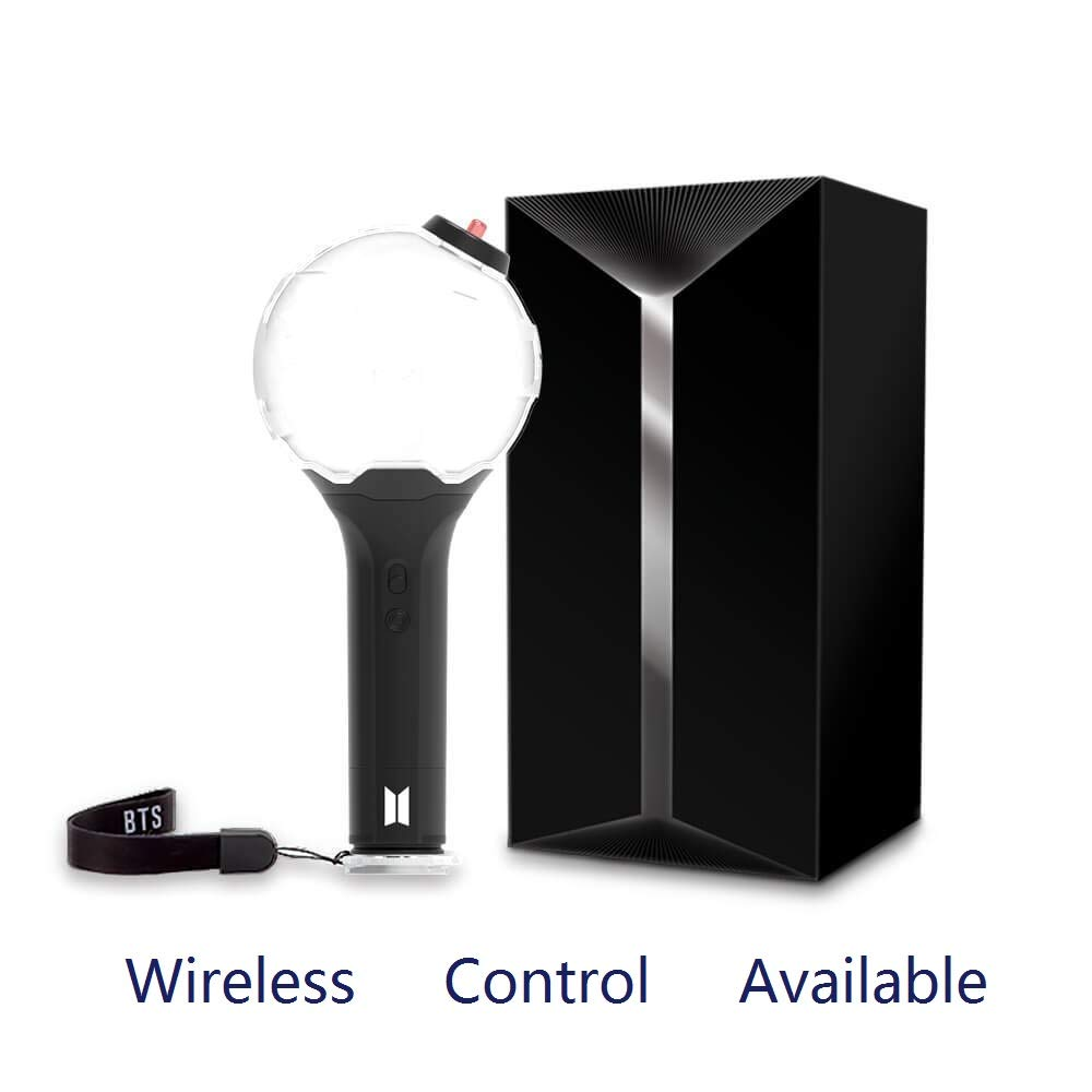 Mglan BTS Light Stick for Bangtan Boys Lightstick Version 3 Wireless Control Army Bomb 2018 Replica-Unofficial
