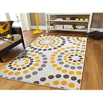 this item new fashion abstract bright soft rugs for living room 8x10 area rugs clearance 8x11 area rug with circles dots rugs optic cream yellow grey browns