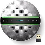 Altavoz Bluetooth, Altavoz para conferencias con 6 micrófonos, Conexión USB/Dongle/Bluetooth, Compatible con l
