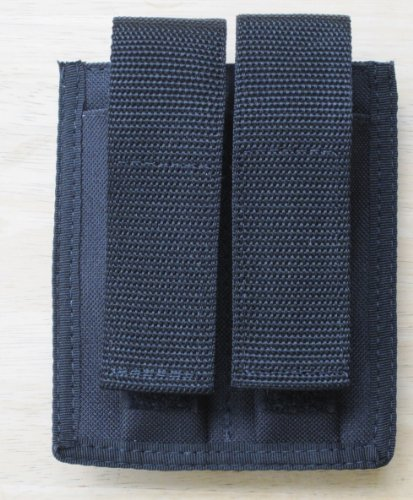 Double Magazine Pouch 9mm, 40 S&W, 45 ACP (Double Ammo Pouch)
