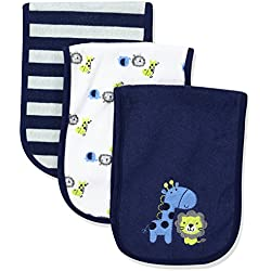 Gerber Baby 3 Pack Terry Burpcloth