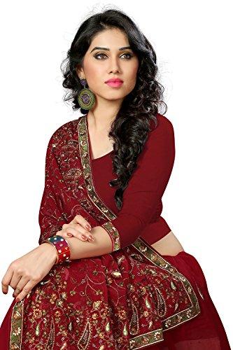 Da Facioun Indian Sarees For Women Wedding Designer Party Wear Traditional Saree. Da Facioun Saris Indiens Pour Les Femmes Portent Partie Concepteur De Mariage Sari Traditionnel. Merron 13 Merron 13