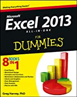 Excel 2013 All-in-One For Dummies Front Cover