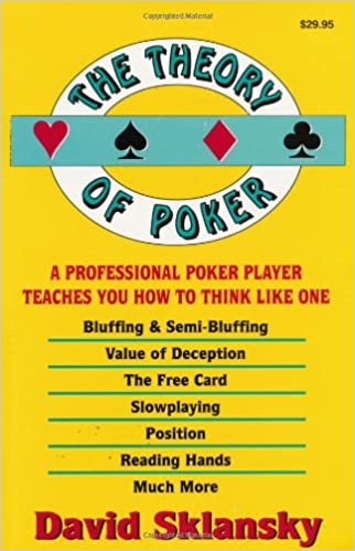 The theory of poker by david sklansky free download commercial mail slots for walls