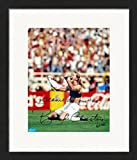 Autograph Warehouse 249177 Brandi Chastain Autographed 8 x 10 in. Photo - USA Womens Soccer Image - No. 99 Matted & Framed