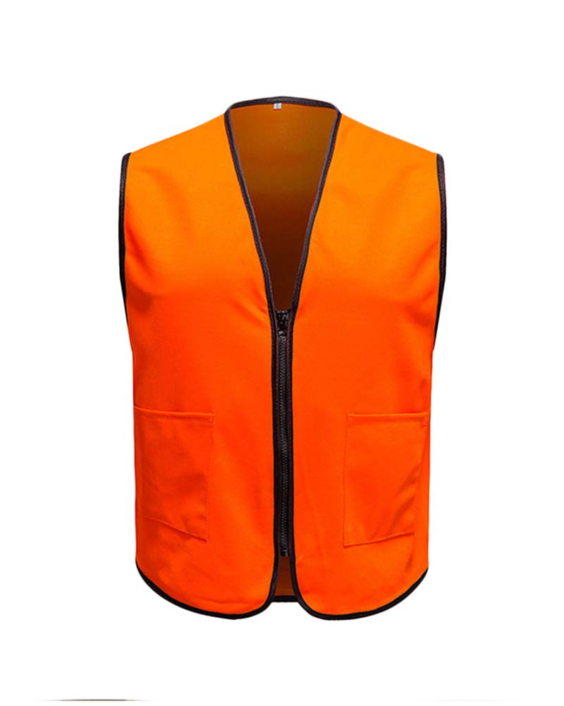Vest Quick Dry Hunting Thin Gilet Top for Unisex Orange L by Shaoyao