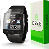 Sony SmartWatch 2 Screen Protector, IQ Shield® LiQuidSkin (6-Pack) Full Coverage Screen Protector for Sony SmartWatch 2 HD Clear Anti-Bubble Film - with Lifetime Warranty