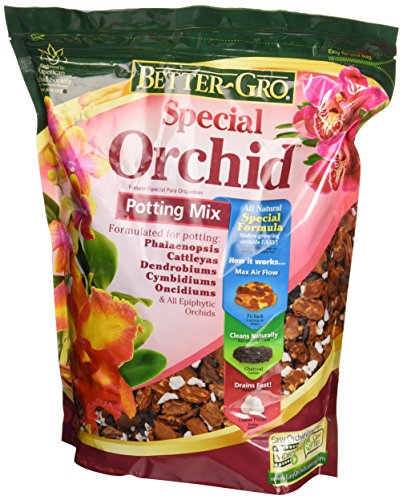 Sun Bulb 50000 Better Gro Special Orchid Mix,  4-Quart - Orchid Fir Bark
