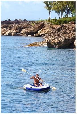 Aquaglide Bote Hinchable de Vela, Kayak Inflable, Canoa ...
