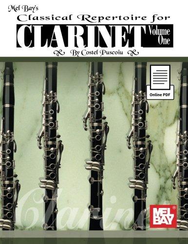 Classical Repertoire for Clarinet: Volume 1