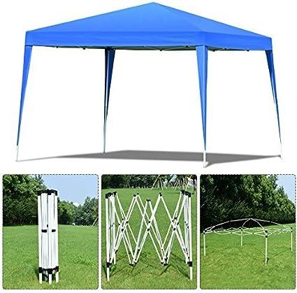 Costway - Carpa plegable de 3 x 3 m para tienda de campaña ...