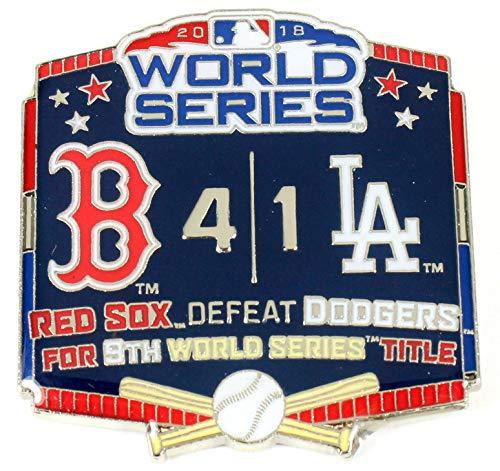 - Classic Pins 2018 World Series Commemorative Pin - Red Sox vs. Dodgers
