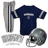 Franklin Sports NFL Dallas Cowboys Deluxe Youth Uniform Set, Medium