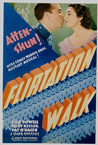 Flirtation Walk, Dick Powell, Ruby Keeler on Midget Window Card, 1934 - Premium Movie Poster Reprint 24
