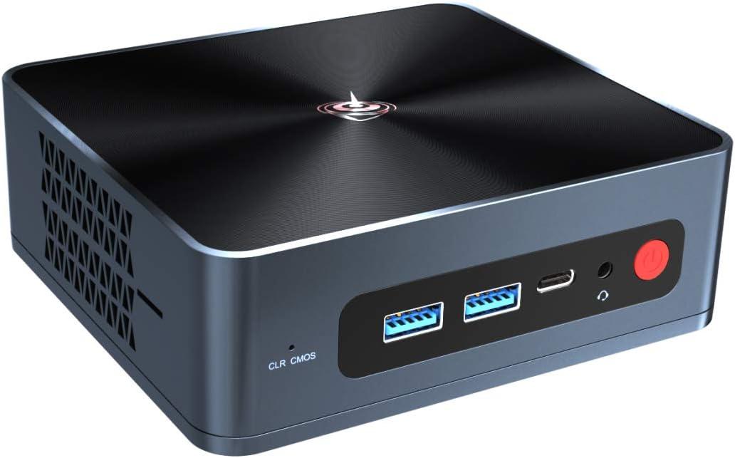 Beelink Mini PC SEI10 Intel 10th Gen Dual-Core i3-10110U(Up to 4.1GHz) Mini Computer 16GB RAM 512GB NVMe SSD,Windows 10 Pro 25W High Performance Mini Desktop Computer,Dual HDMI,WiFi 6,BT5.0