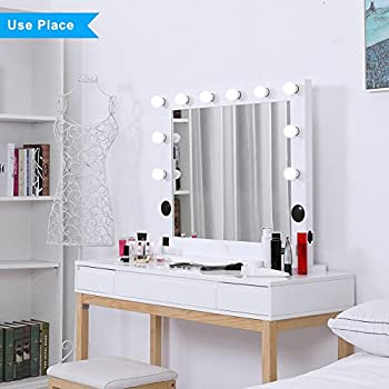 Amazon Com Hollywood Lighted Makeup Vanity Mirror Light