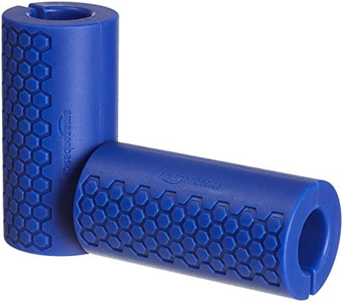 AmazonFundamentals Dumbbell and Barbell Grips, Multiple Sizes