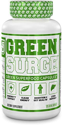 Green Surge Superfood Capsules Supplement product image