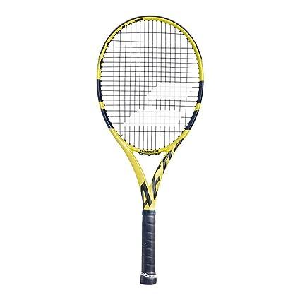 maat 40 het meest geliefd redelijk geprijsd Babolat Aero G Tennis Racket, Yellow: Amazon.co.uk: Sports ...