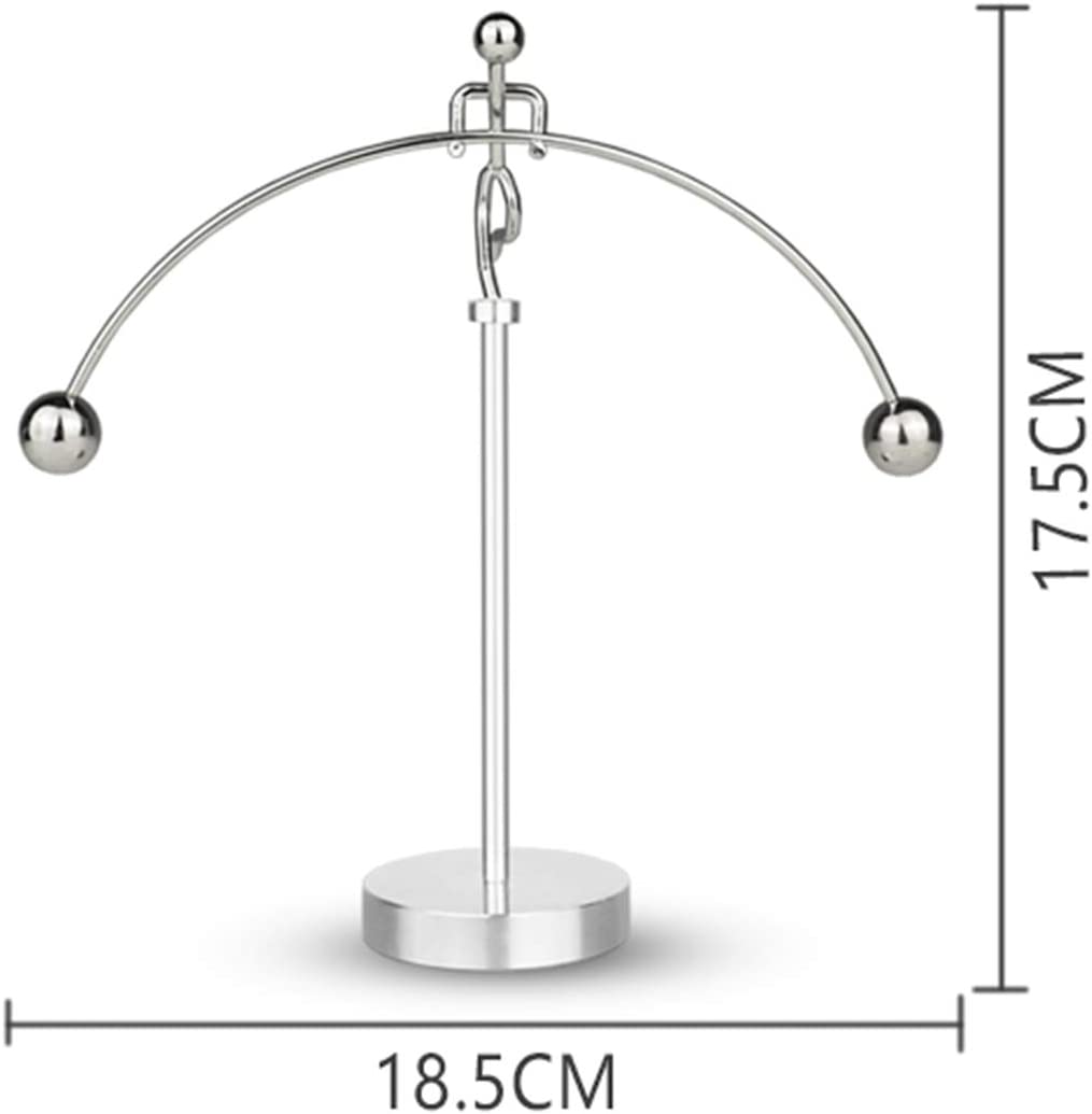 ThinkTop Weightlifter Kinetic Art Balance Steel Balance Physics Decoration for Home Office Desk