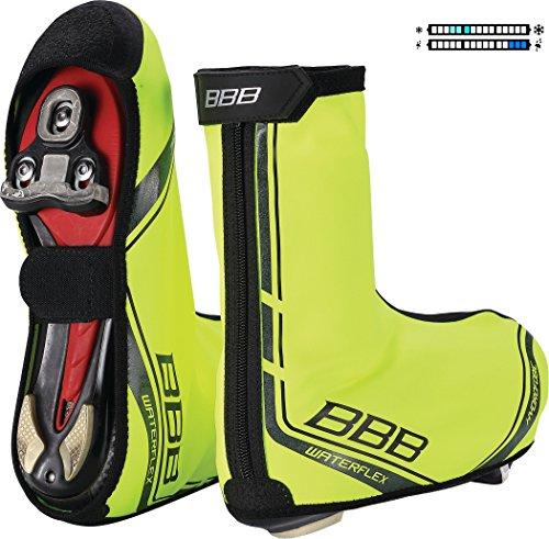 Road Shoecovers neon 03 BWS yellow Waterflex BBB HTqnWwvxH