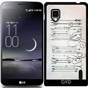 Funda para LG Optimus G (E975) - código de barras espíritu salvaje by LouJah